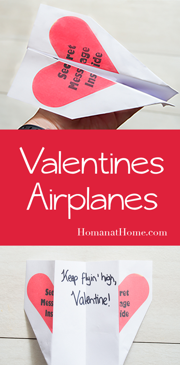 Valentines Airplanes   Homan at Home