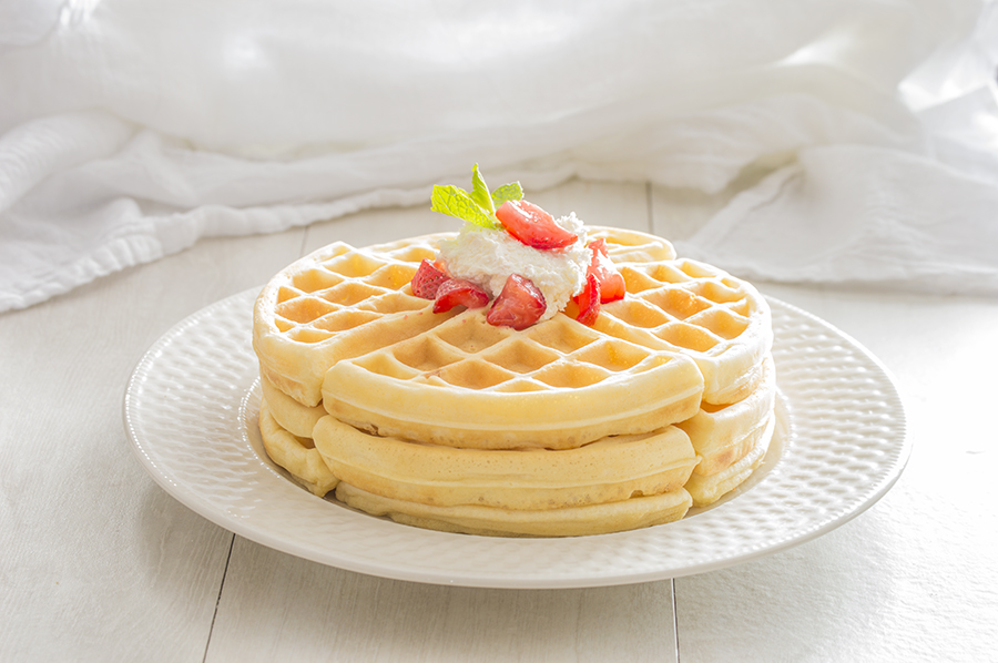 Light 'n Fluffy Waffles | Homan at Home