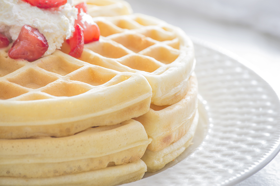Light 'n Fluffy Waffles | Homan at Home