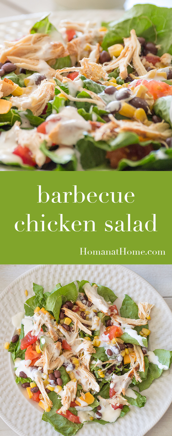 Barbecue Chicken Salad | Homan at Home