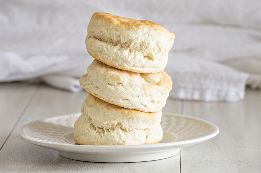 Mile-High Biscuits | Homan at Home