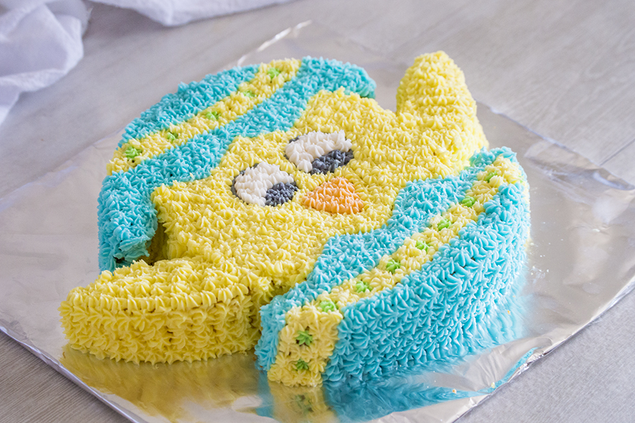 Chick Cut-Up Cake