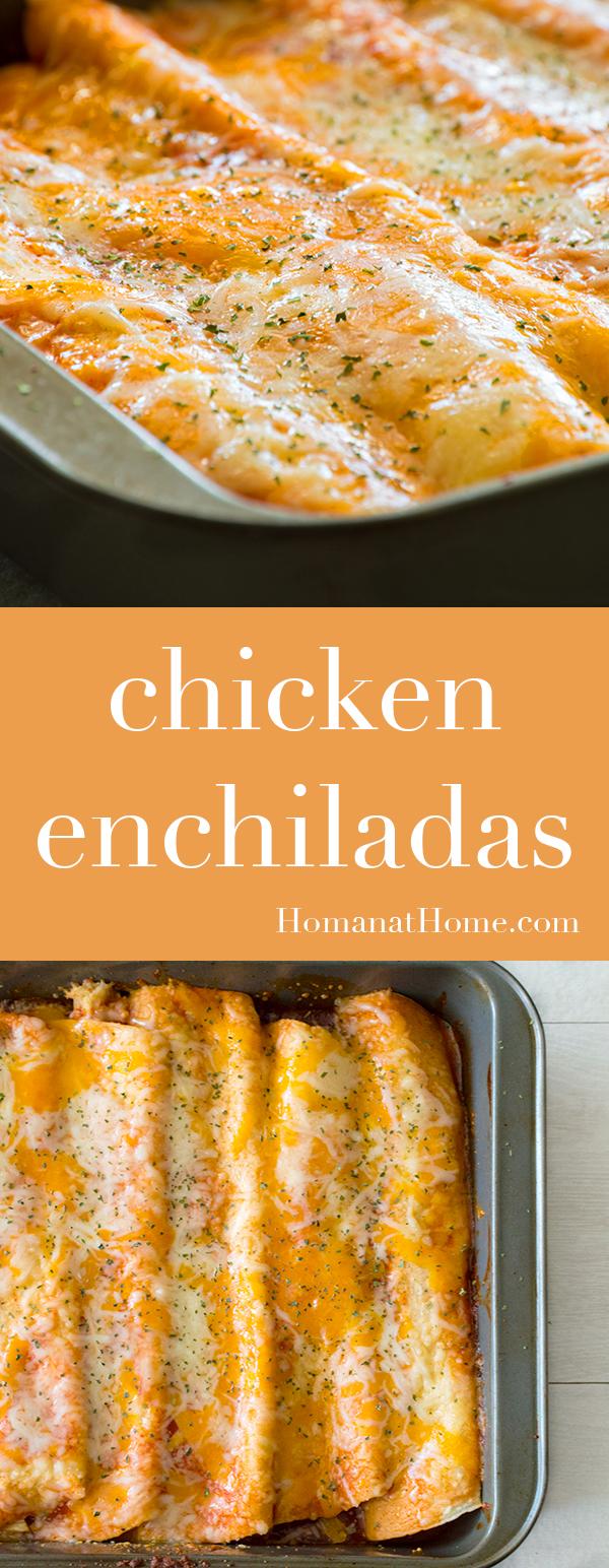 Chicken Enchiladas   Homan at Home