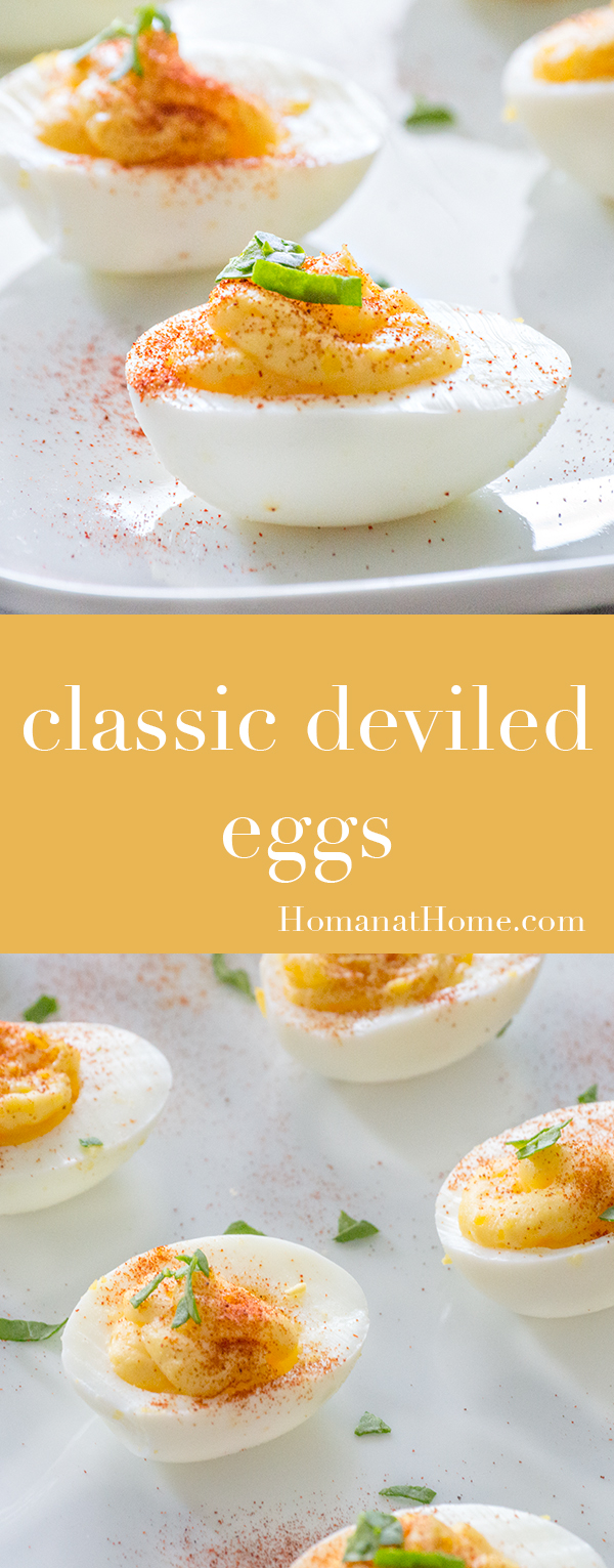 Classic Deviled Eggs | Homan at Home
