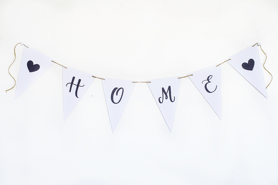Home Bunting from Ensign Insights