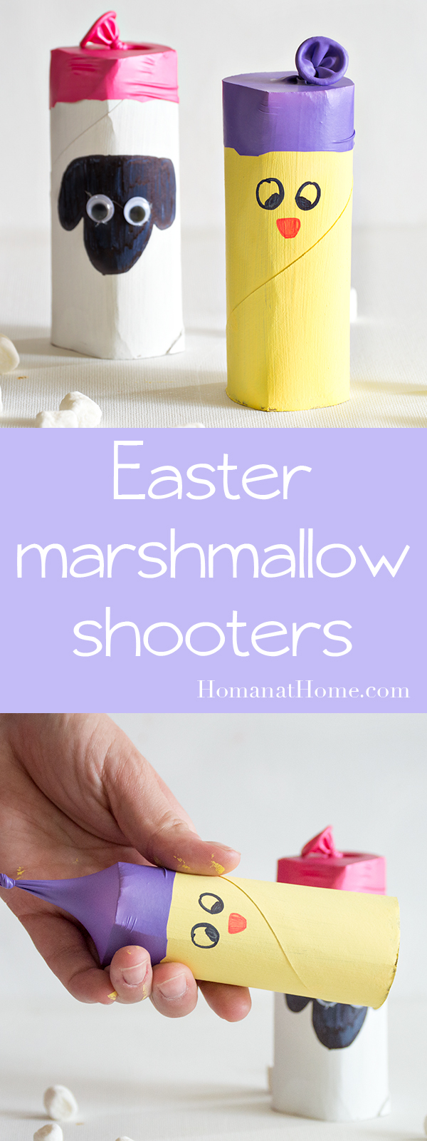 Easter Marshmallow Shooters | Homan at Home