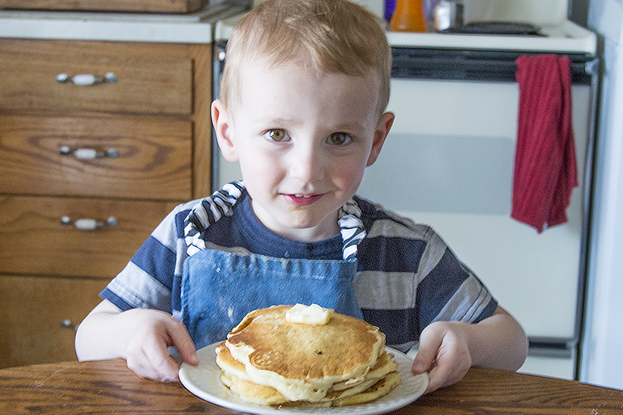 Pancakes in a Bag   Homan at Home