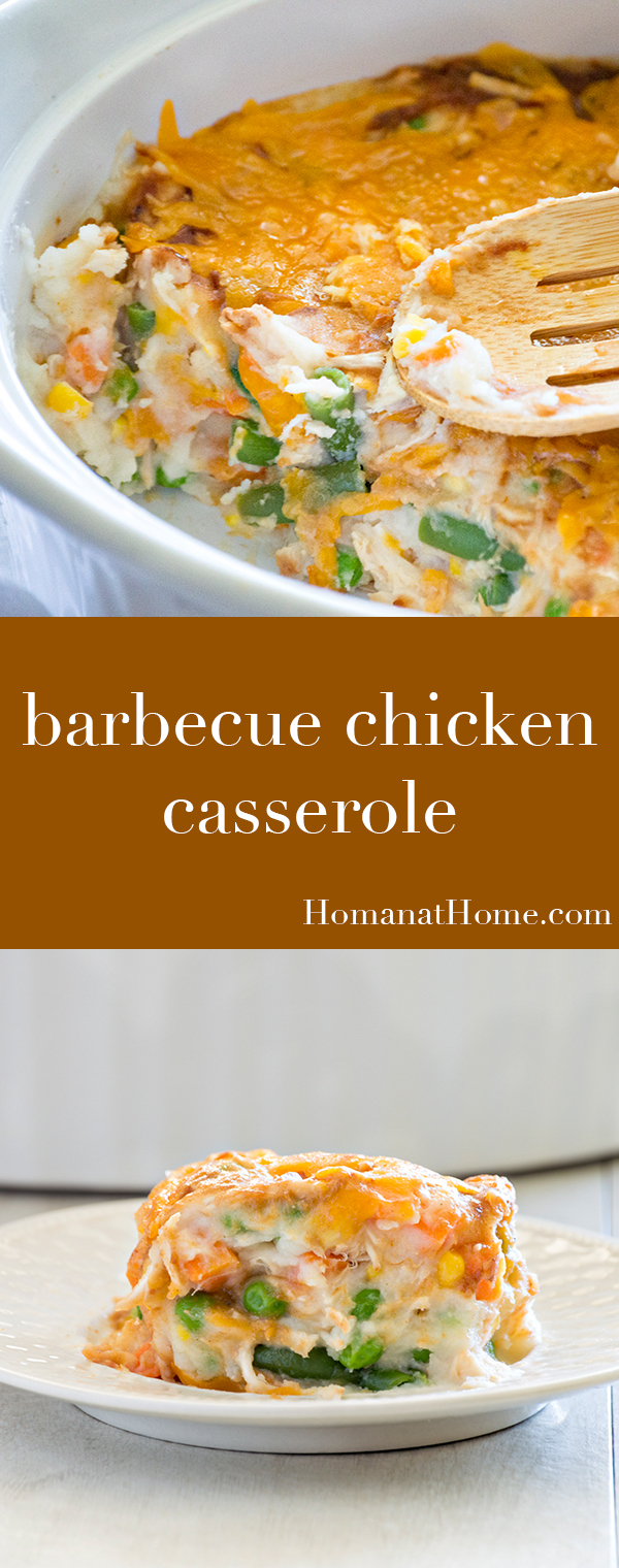 Barbecue Chicken Casserole | Homan at Home