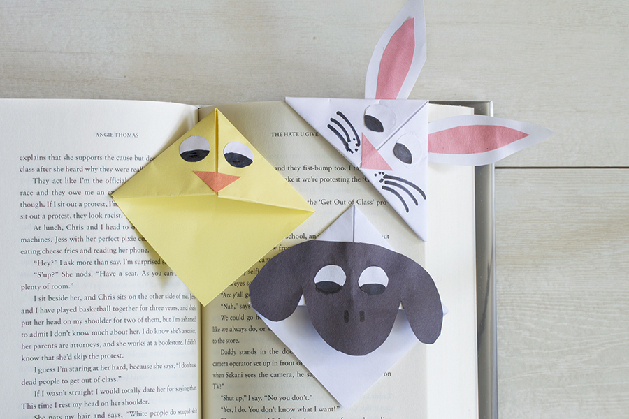 Easter Corner Bookmarks | Homan at Home