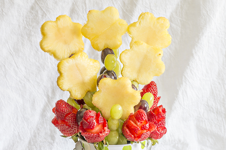 DIY Edible Arrangements