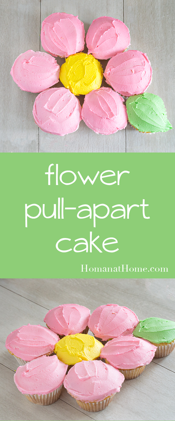 Flower Pull-Apart Cake | Homan at Home