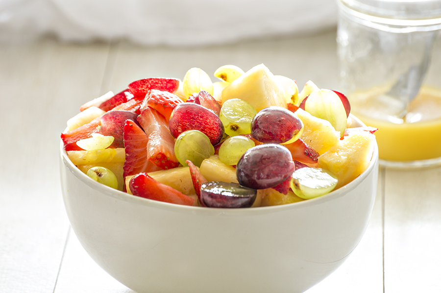 Fruit Salad with Citrus Dressing | Homan at Home