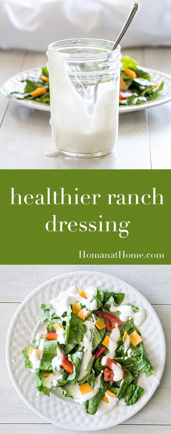 Healthier Ranch Dressing | Homan at Home