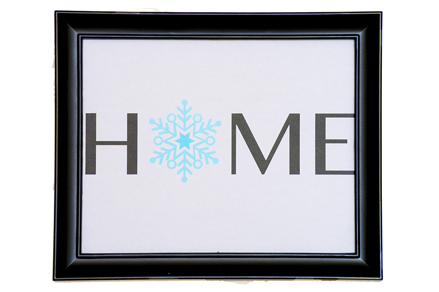 Winter Home Printables | Homan at Home
