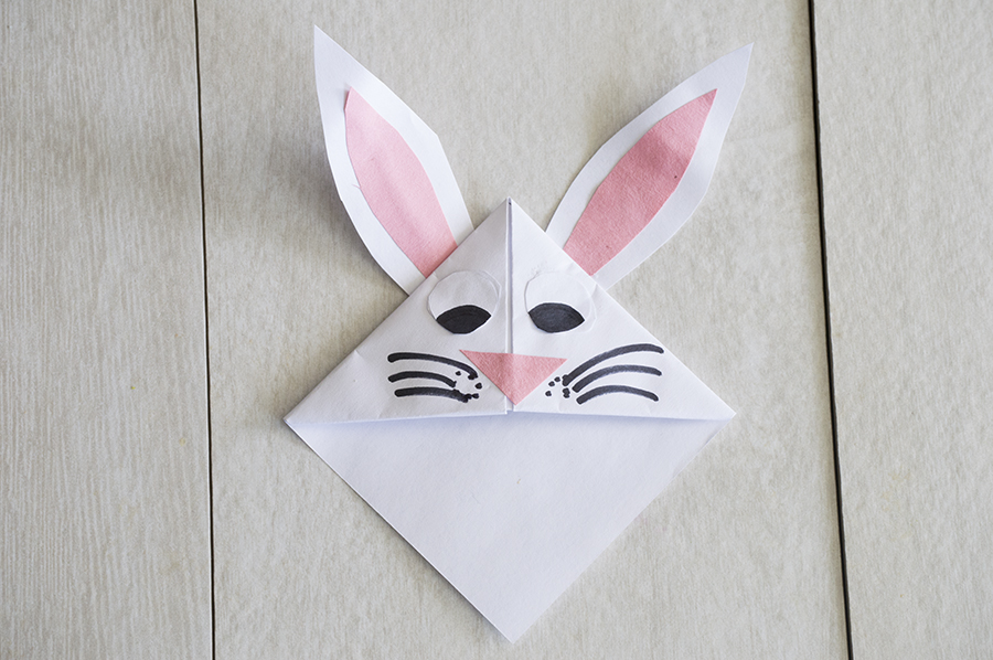 easter bunny corner bookmark homan at home 4298