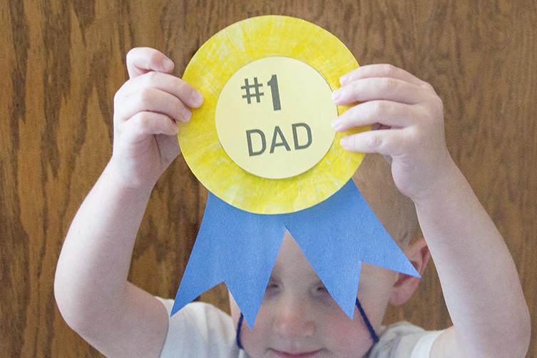 #1 Dad Medal | Homan at Home