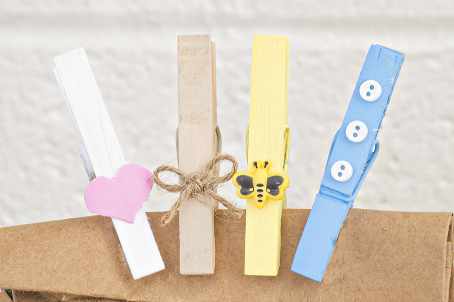 Clothespin Chip Clips