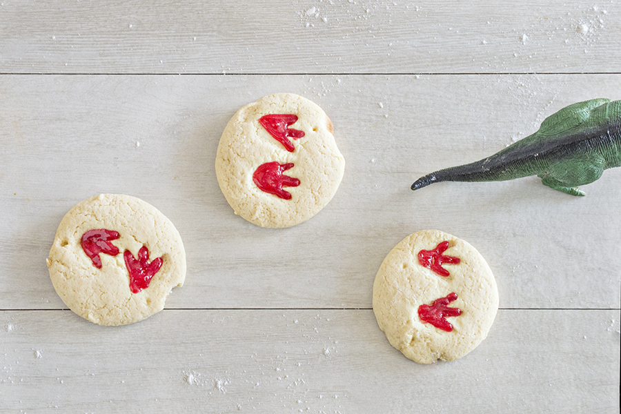 Dinosaur Track Cookies | Homan at Home