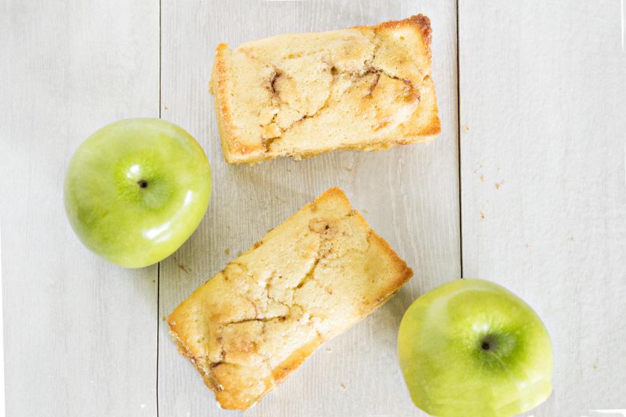 Caramel Apple Fritter Bread | Homan at Home