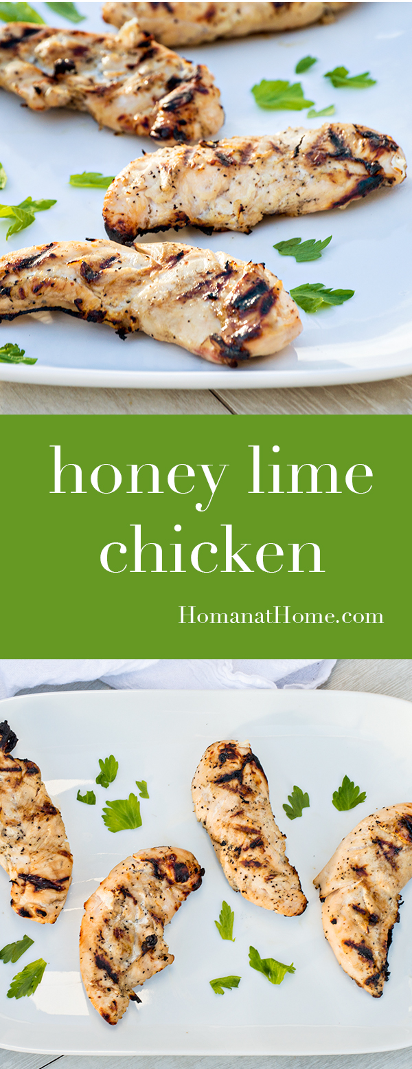 Honey Lime Chicken | Homan at Home