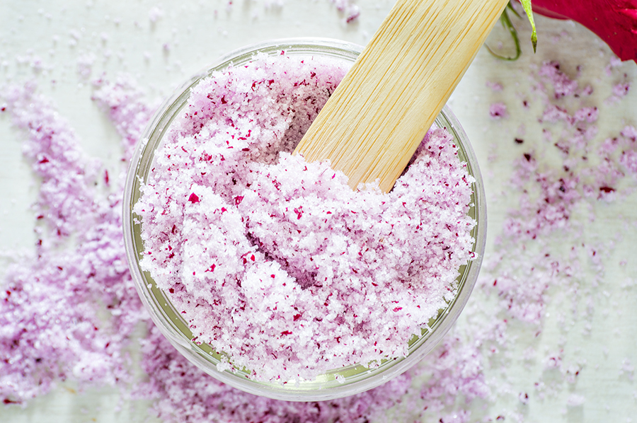 Rose Sugar Scrub | Homan at Home