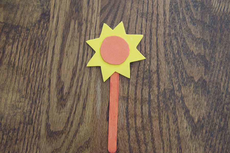 Summer Fun Popsicle Stick Bookmarks | Homan at Home