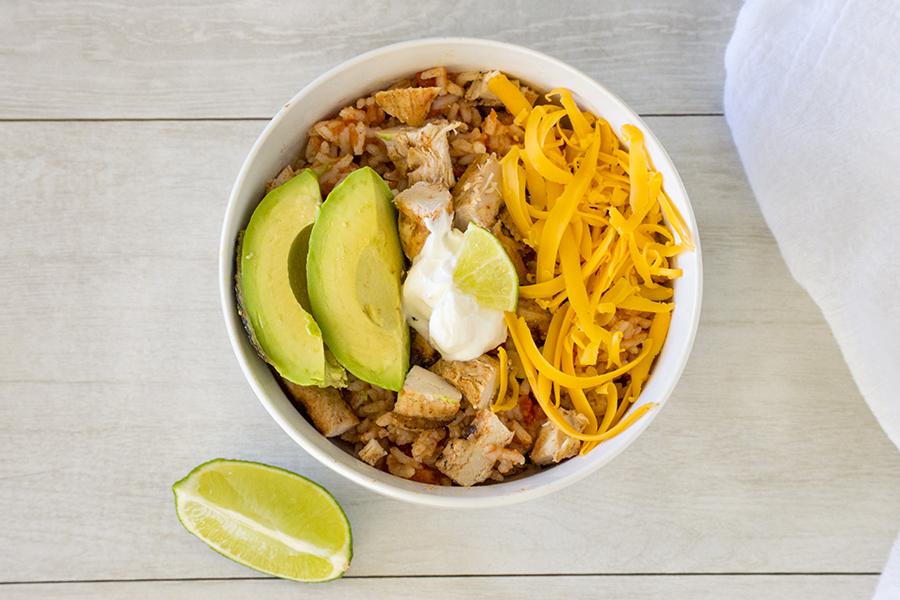 Fiesta Chicken Bowls