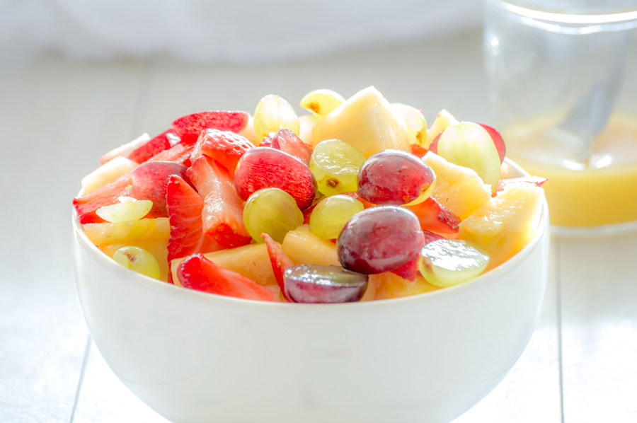 Fruit Salad with Citrus Dressing