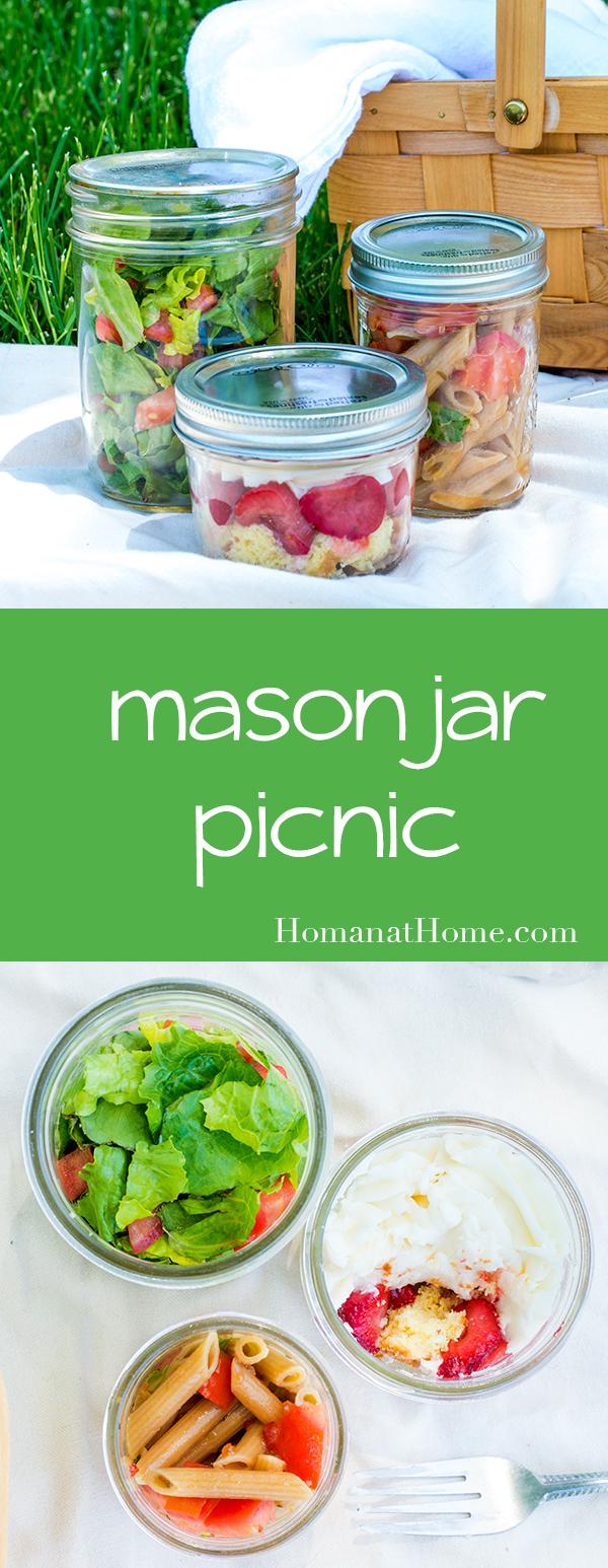 Mason Jar Picnic | Homan at Home
