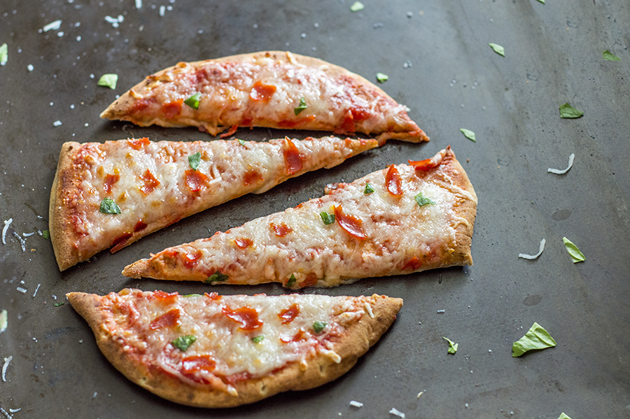 Pepperoni Pita Pizzas