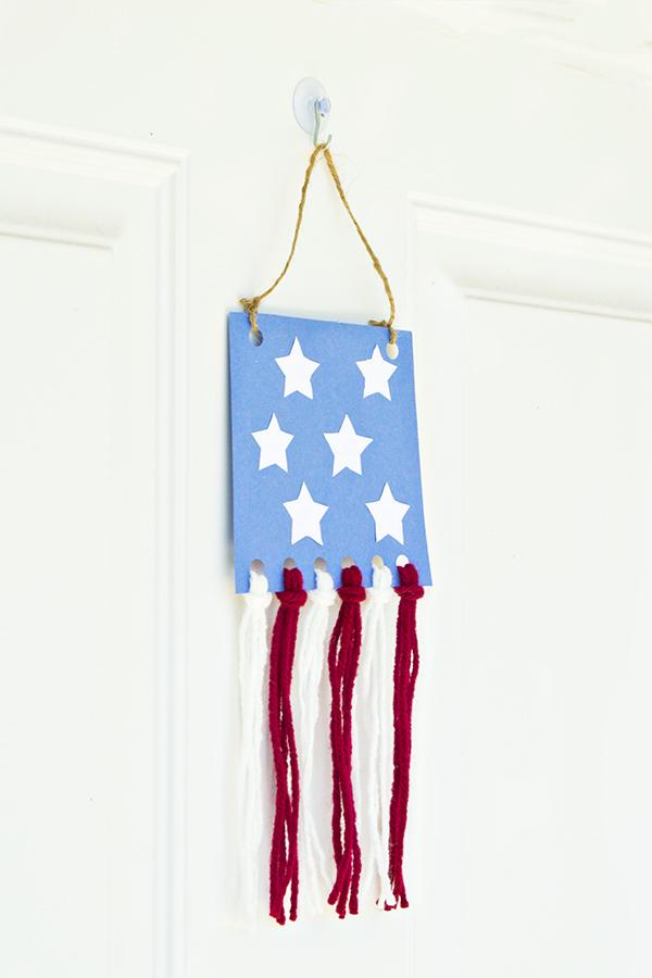 Flag Door Hanger | Homan at Home