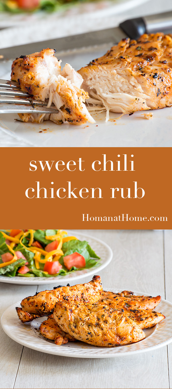 Sweet Chili Chicken Rub | Homan at Home