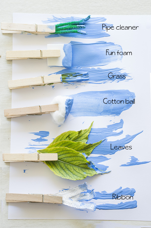 Creative Paintbrushes   Homan at Home