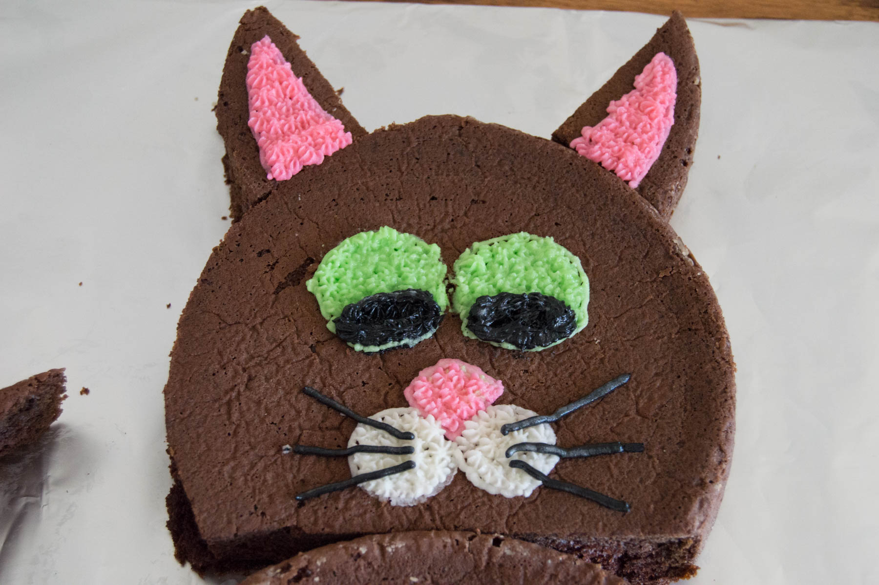 Cake Cut-Up Cake | Homan at Home