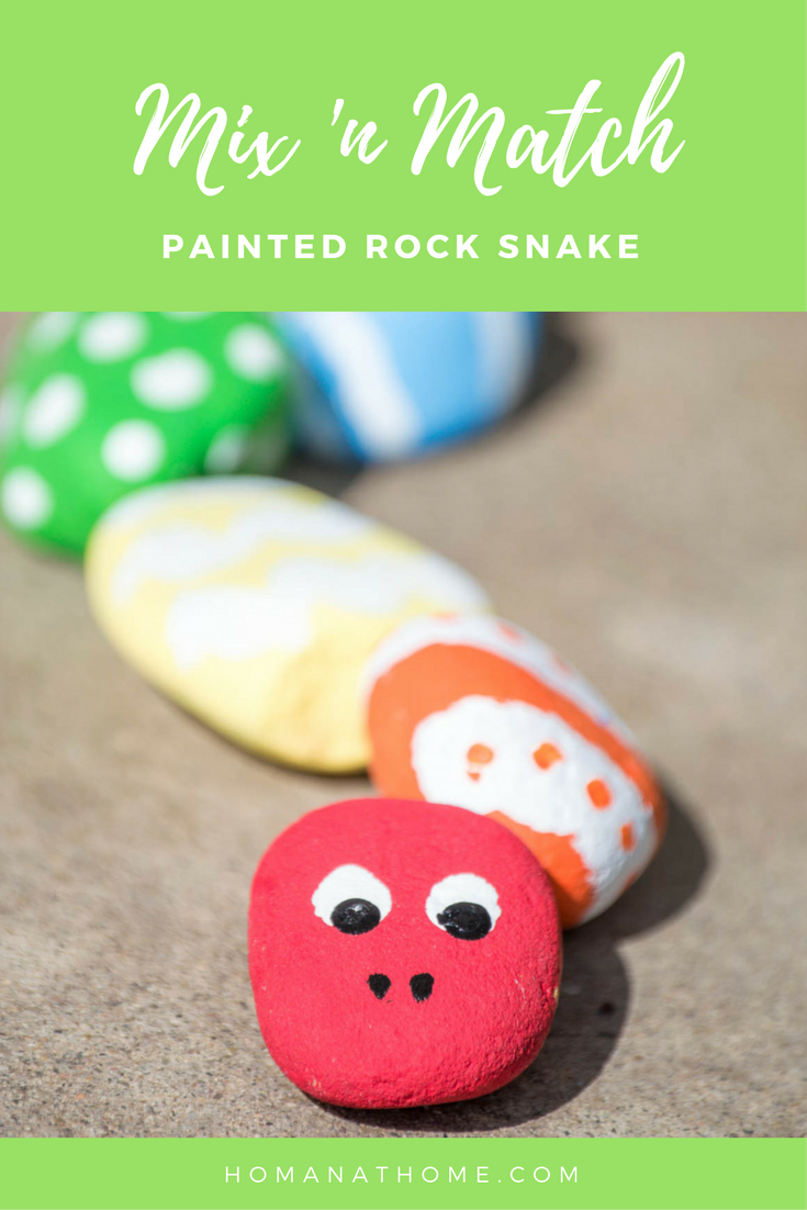 Mix 'n Match Rock Snake | Homan at Home