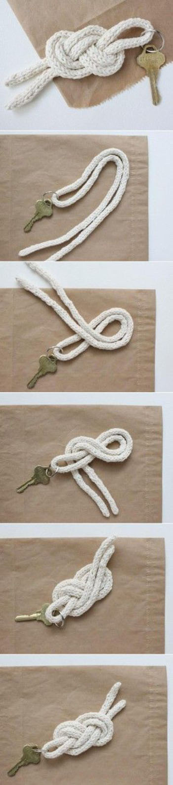 http://www.lotsofdiy.com/diy-key-knot/