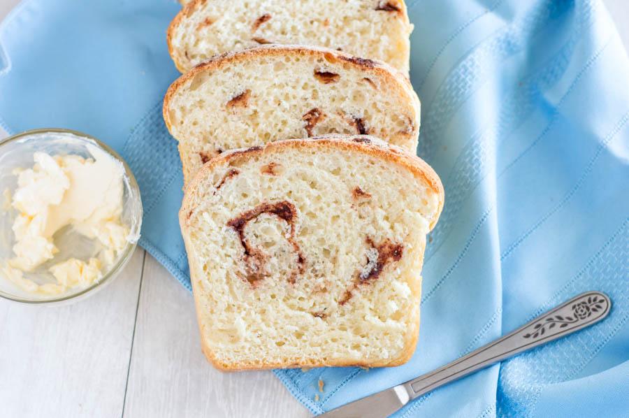Great Harvest Copycat Cinnamon Chip Bread | Homan at Home