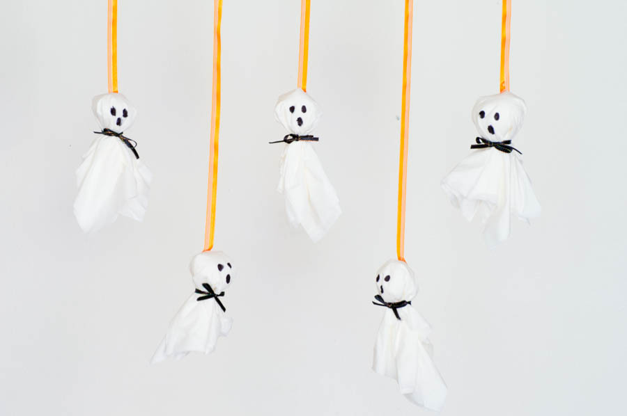 Tissue Paper Ghosts