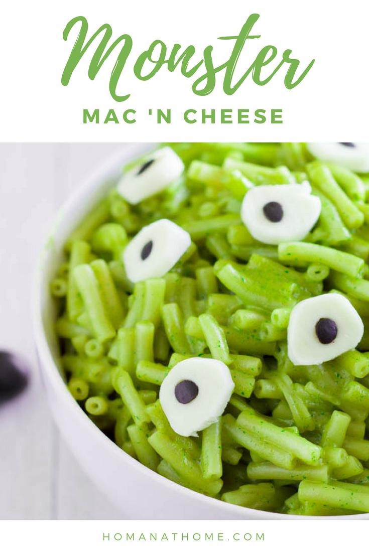 Monster Mac 'n Cheese | Homan at Home