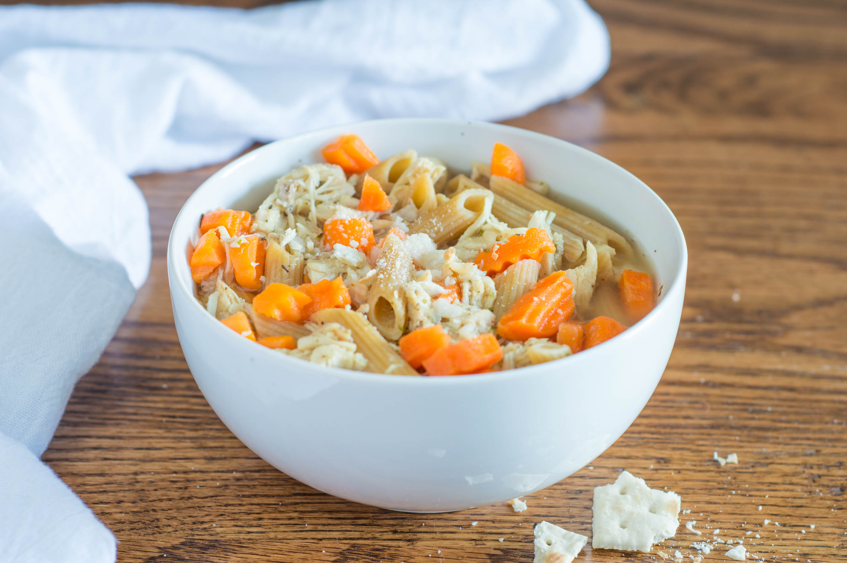 Easy Chicken Noodle Soup |  Homan at Home