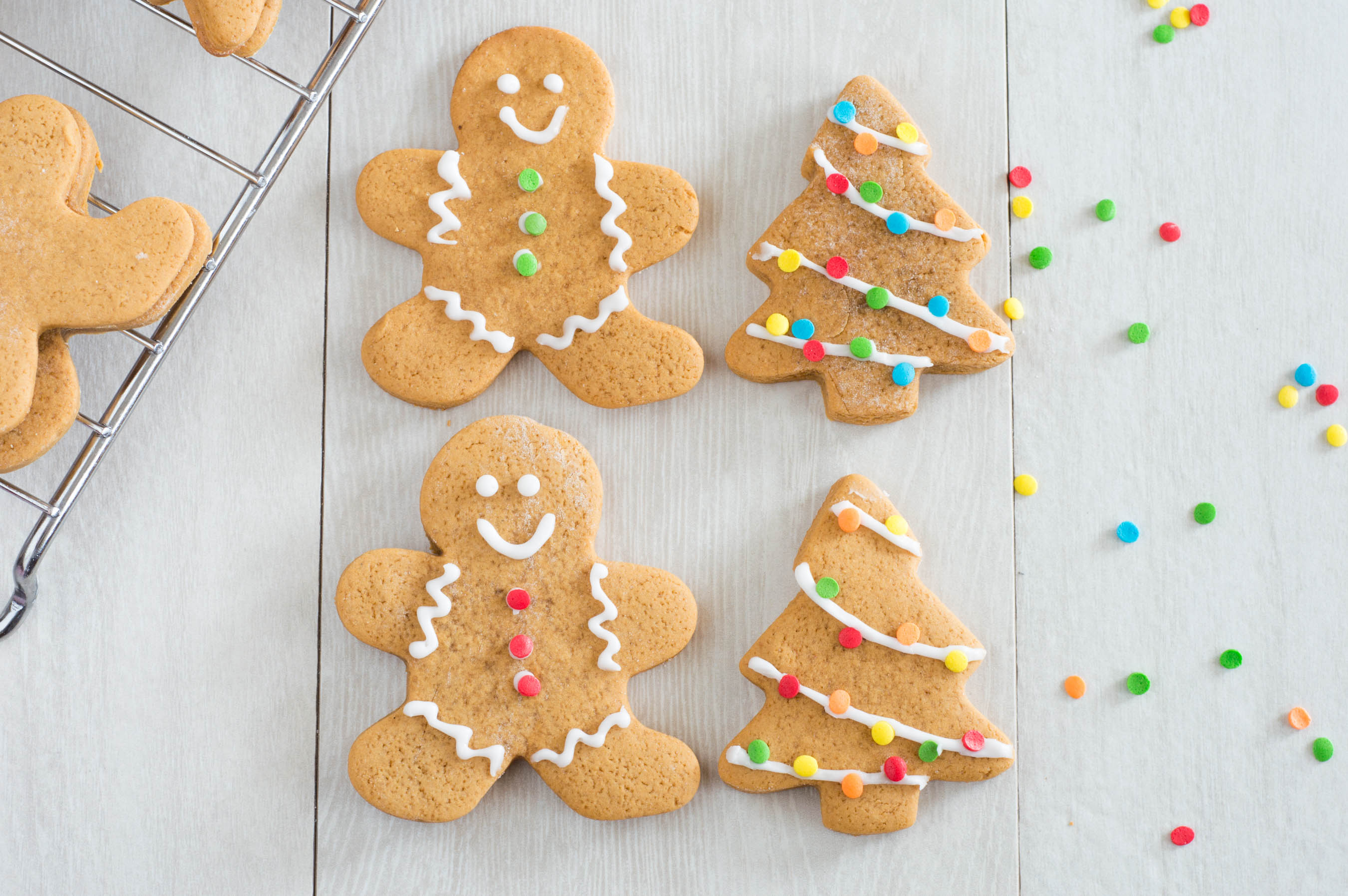 No Chill Gingerbread Cut Out Cookies | Homan at Home