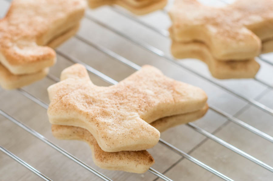 No Chill Snickerdoodle Cut Out Cookies