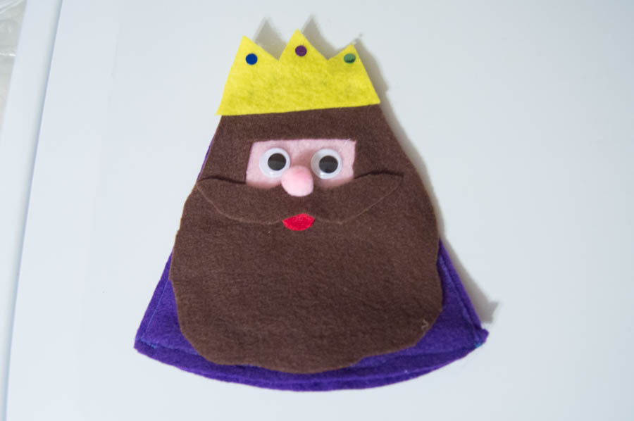Wise Men Felt Candy Holders | Homan at Home