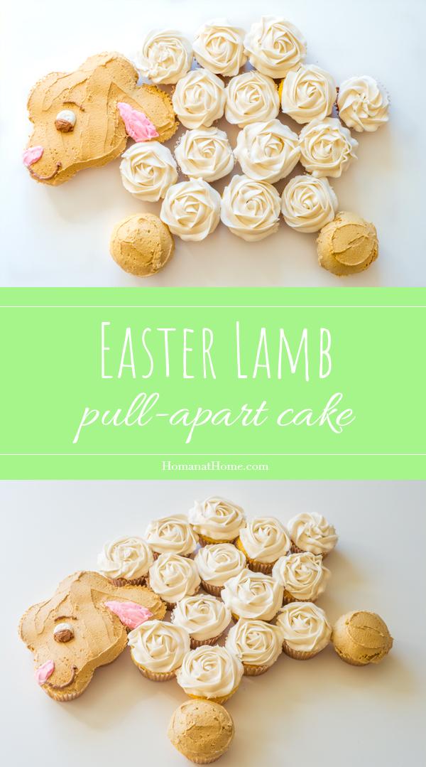 Lamb Pull-Apart Cake | Homan at Home