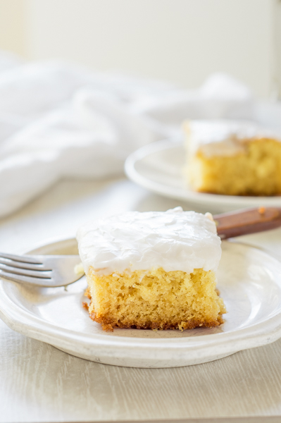 Lemon Snack Cake | Homan at Home