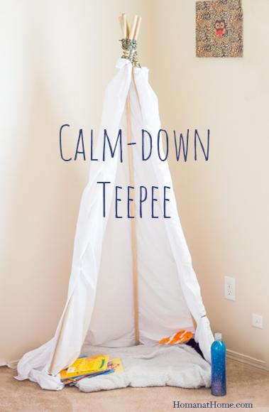 Calm-Down Teepee | Homan at Home