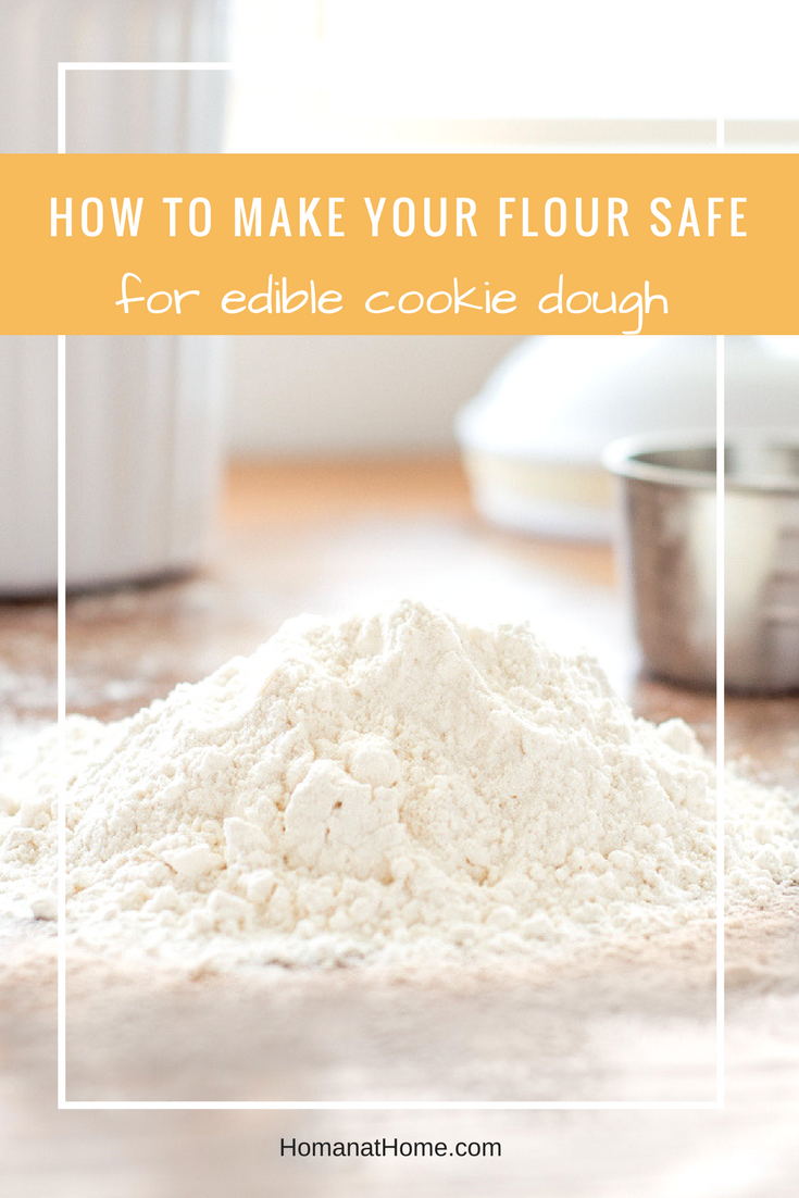 How to Make Your Flour Safe | Homan at Home