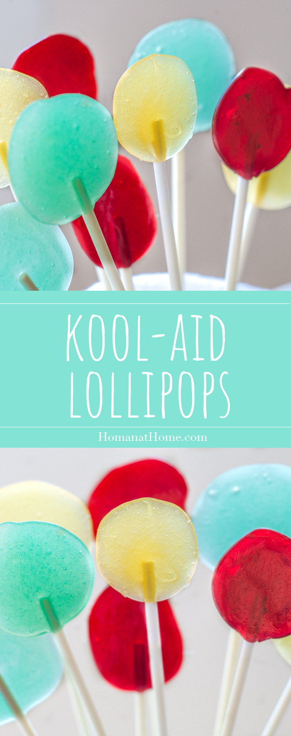 Kool-Aid Lollipops | Homan at Home