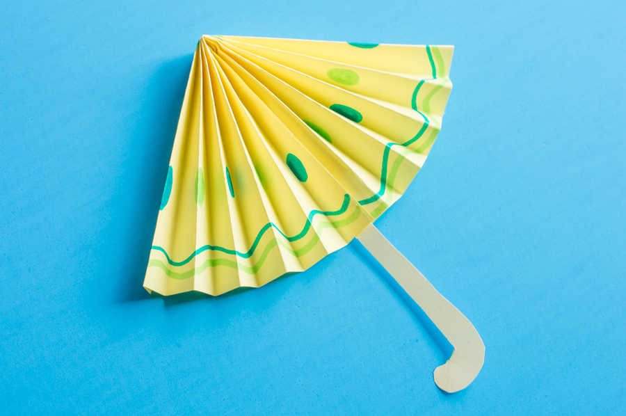 April Showers Paper Umbrellas