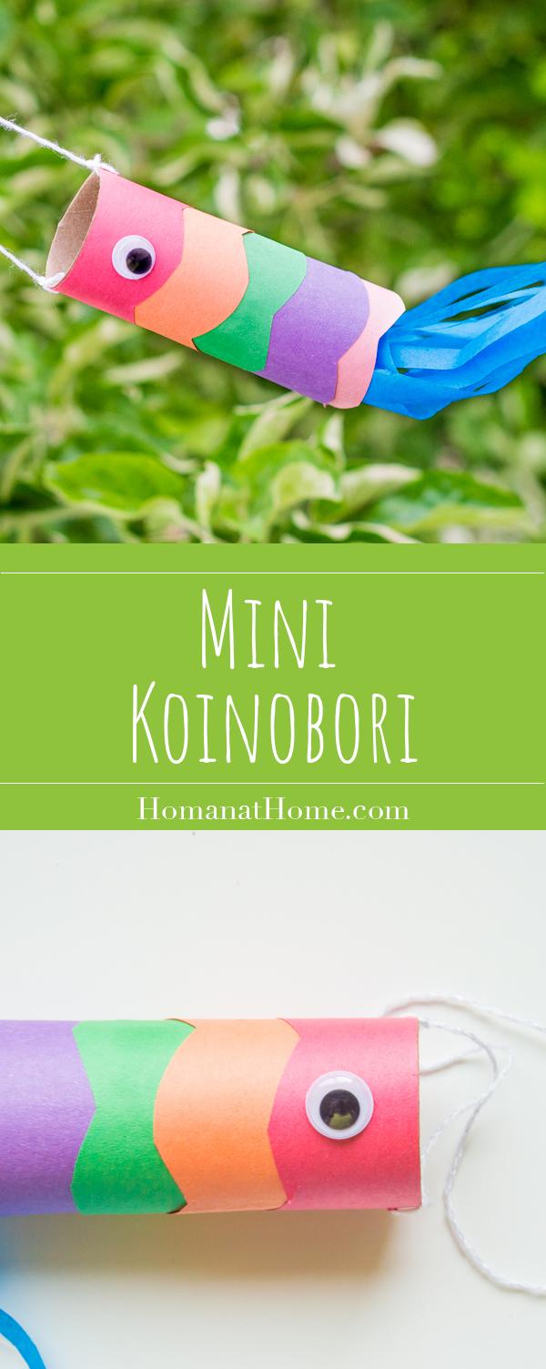 Mini Koinobori | Homan at Home
